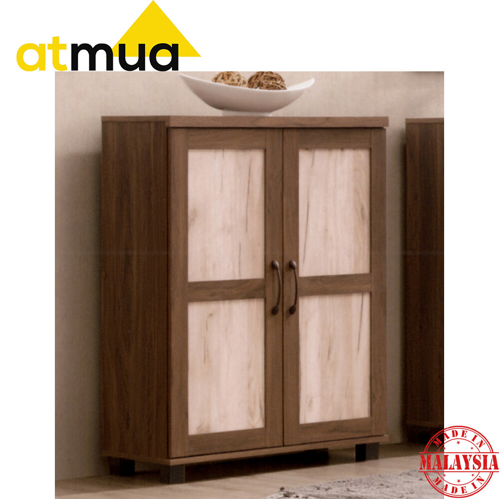 Atmua Jane Shoe Cabinet Modern Shoe Cabinet with Soft Close Door 5 Tier Rack Can Storage 15 Pairs of Shoes
