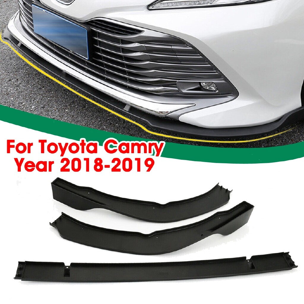 Automotive Tools & Equipment - 3 x Front Bumper Protector Cover For Toyota Camry - Kit - Car Replacement Parts