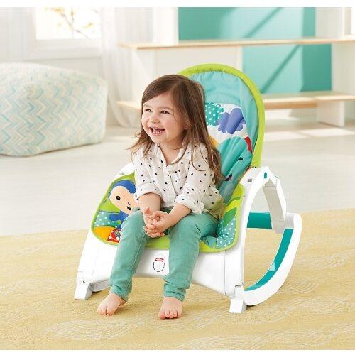 Fisher-Price: Rainforest Friends - Newborn-to-Toddler Portable Rocker