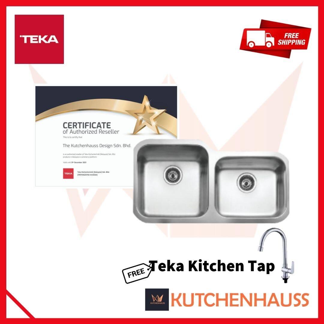 Teka BE 2B 880 Under Worktop Sink (Stainless Steel)