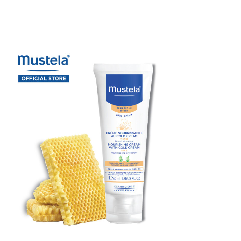 MUSTELA Nourishing Cream with Cold Cream for Dry Skin (40ml)