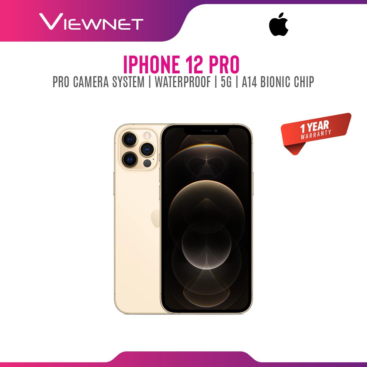 Apple iPhone 12 Pro (128GB,256GB,512GB) 5G smartphone,1 year warranty