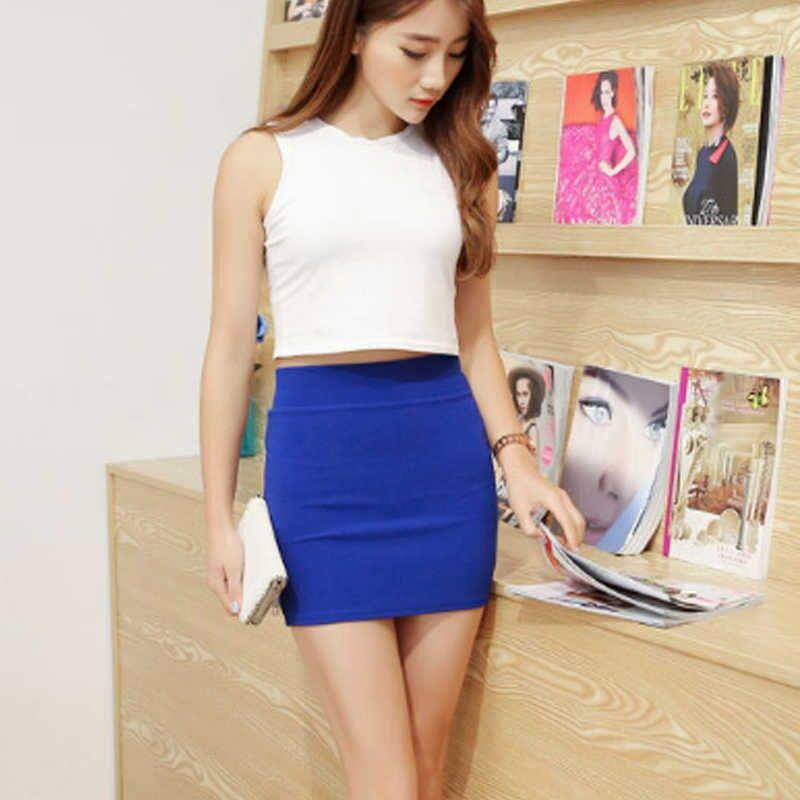 Wholesale Price Summer 2020 Korean Japanese Style High Waist Bodycon Short Skirts