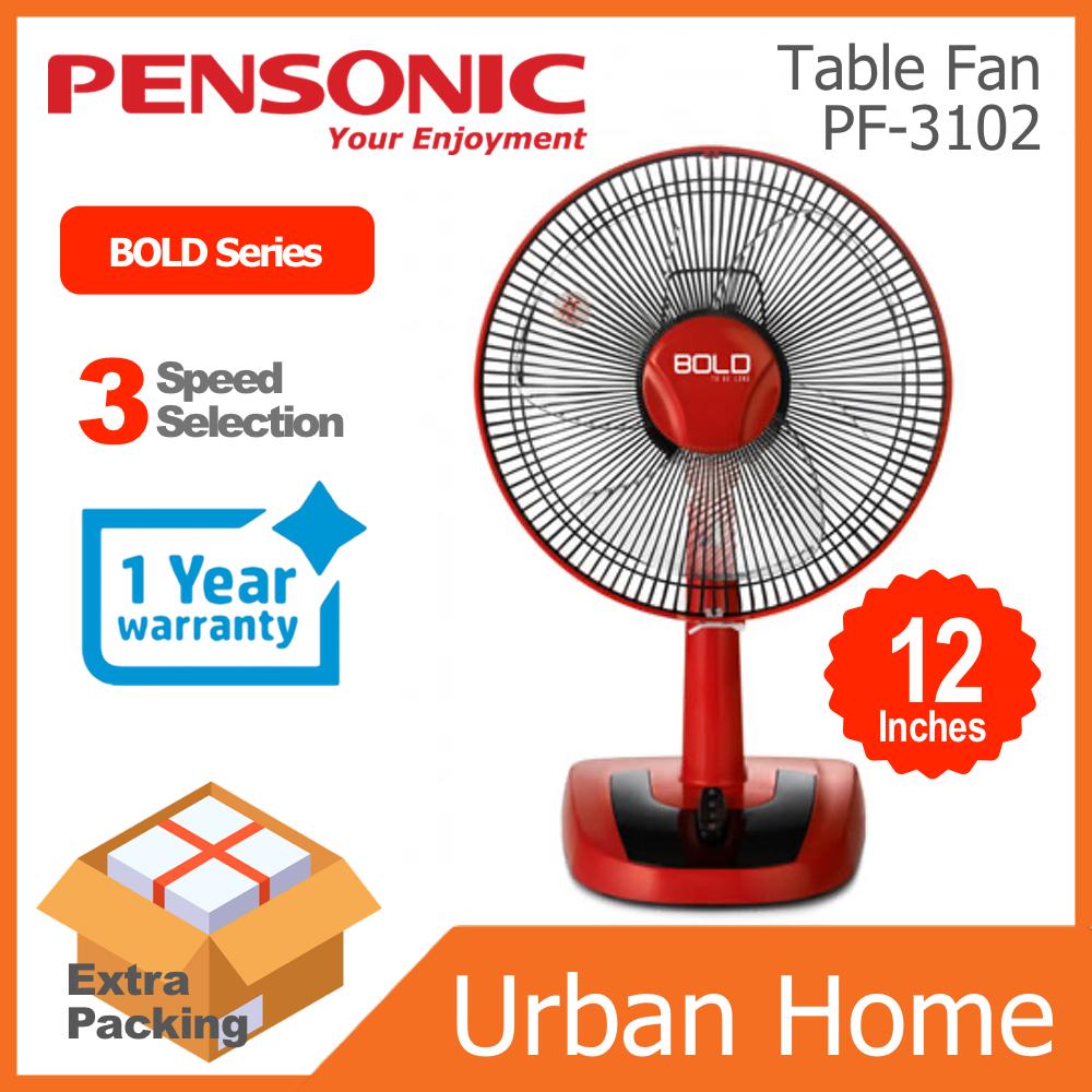 "PENSONIC 12"" BOLD Series Desk Table Fan Kipas Meja (PF-3102/PF3102)"