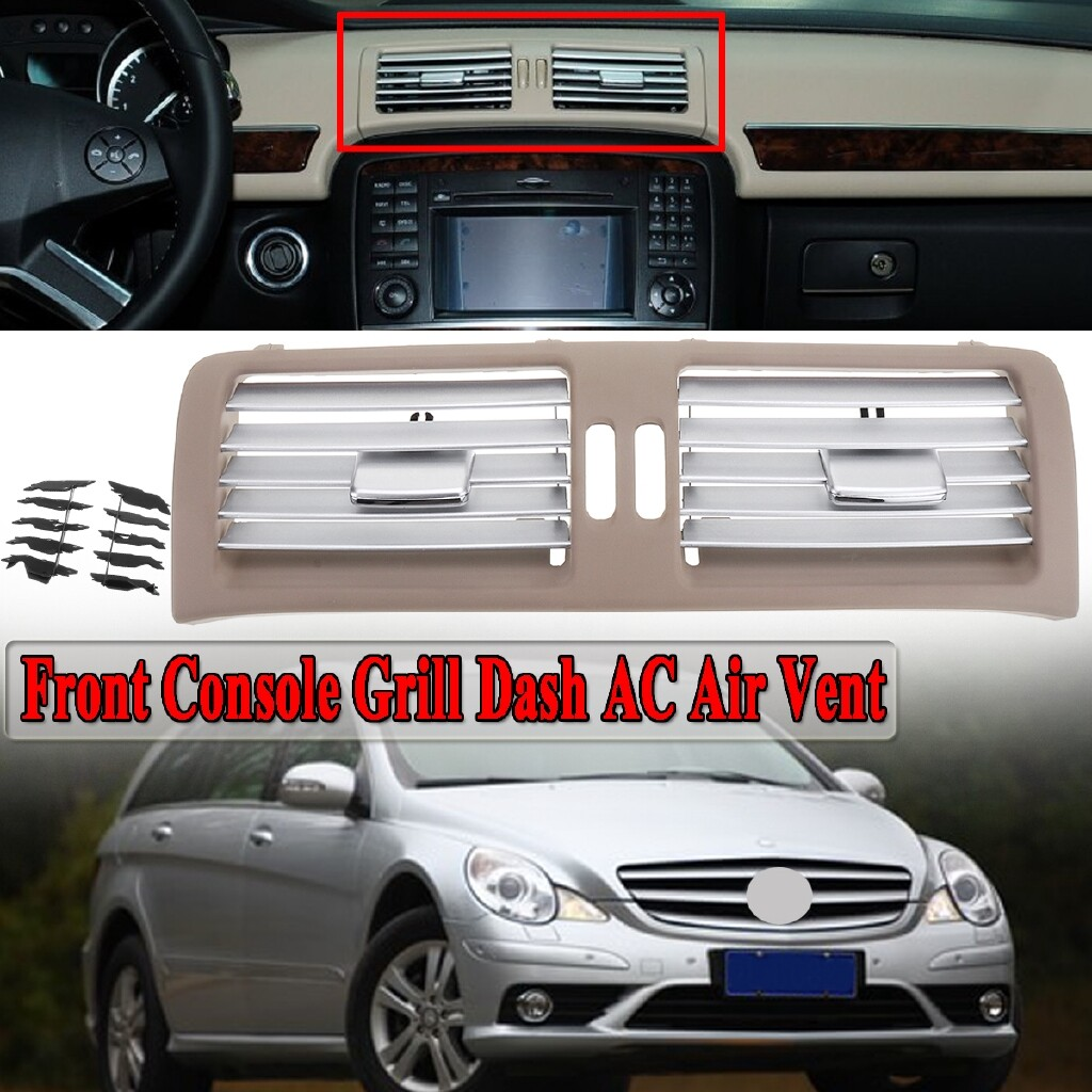 Automotive Tools & Equipment - Front Console Grill Dash AC Air Vent For Mercedes W251 R280 R300 R320 R350 R500 - Car Replacement Parts