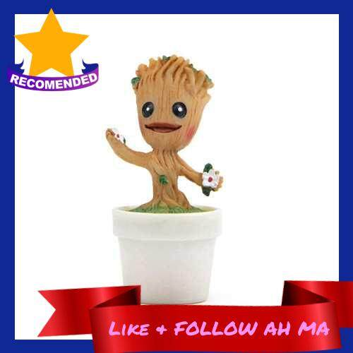 Best Selling Guardians of the Galaxy - Groot Collectible Figure Flowerpot Movie Fans Gift