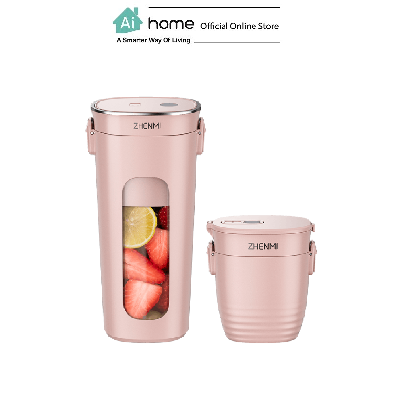 ZHENMI Vacuum Varible Juicer J1 300ml Portable Blender with 1 Year Malaysia Warranty [ Ai Home ]