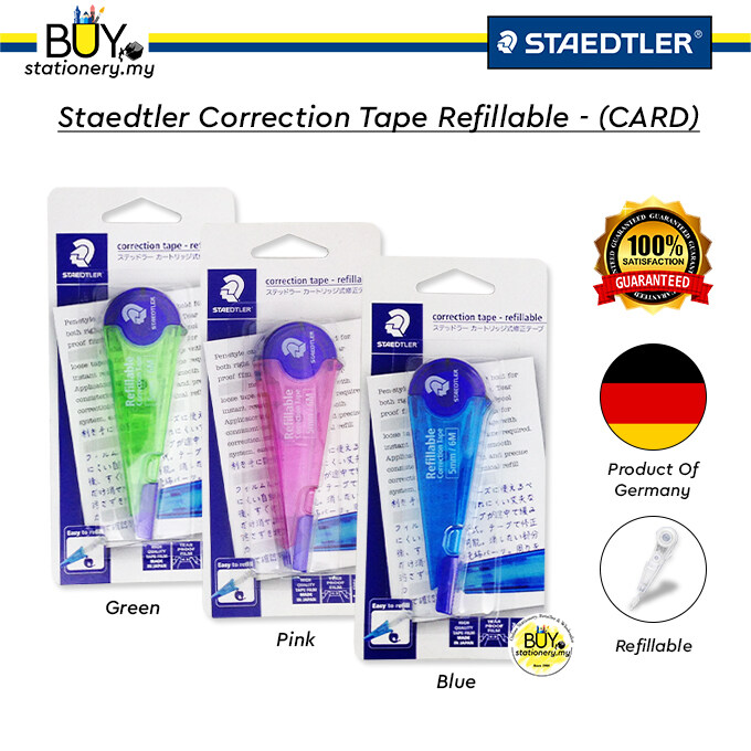 Staedtler Correction Tape Refillable - (CARD)