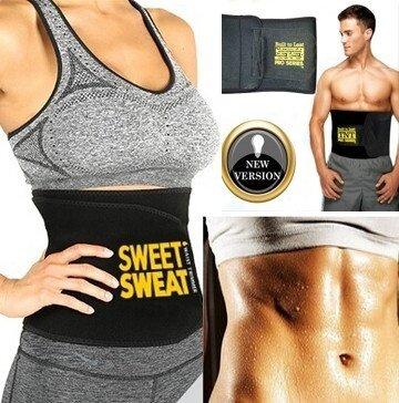 Sweet Sweat Weight Loss Slimming Trimming Waist Trainer Fitness Belt