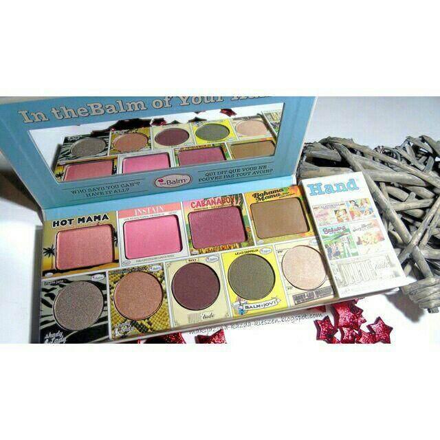 FREE GIFTOf Your Hand Palette Eyeshadow In TheBalmm
