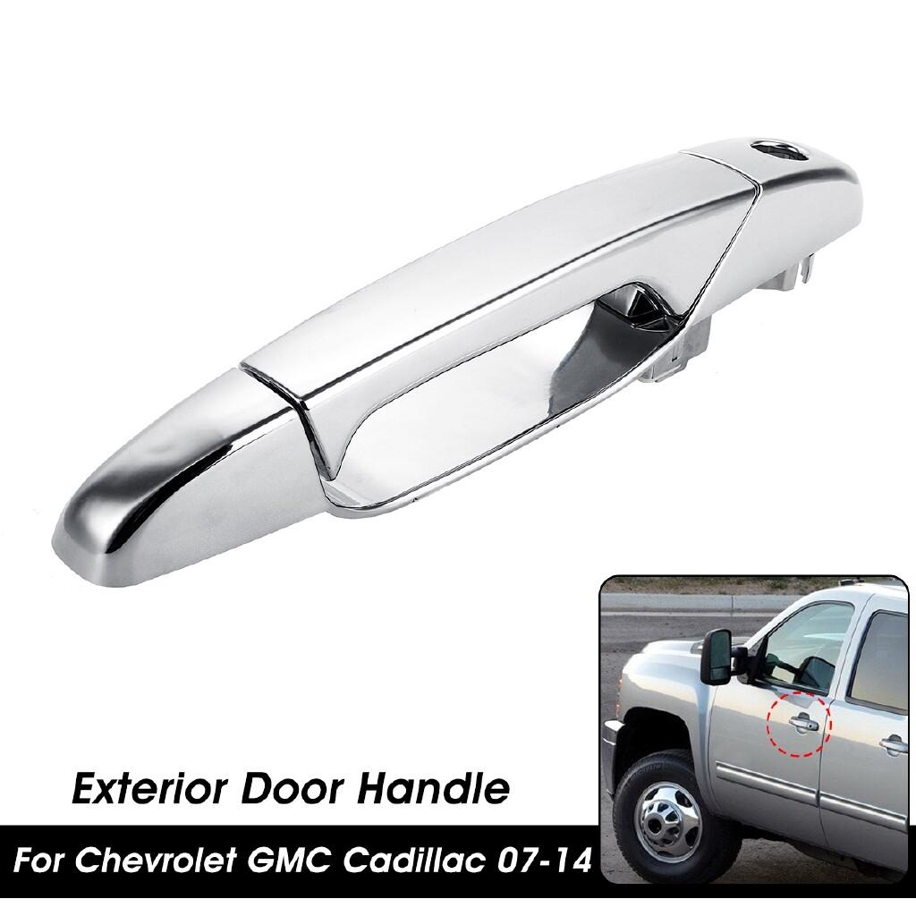 Automotive Tools & Equipment - Chrome Exterior Door Handle Front Left For Chevrolet GMC Cadillac 2007-2014 - Car Replacement Parts