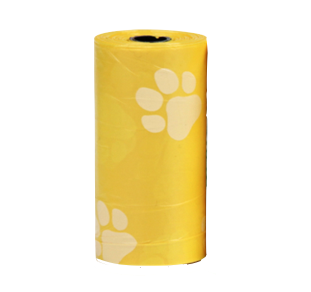 Petbest【宠百思】Pet Poop / Pet Waste Disposable Bag 宠物拾便袋塑料垃圾袋 1 Roll = 15pcs