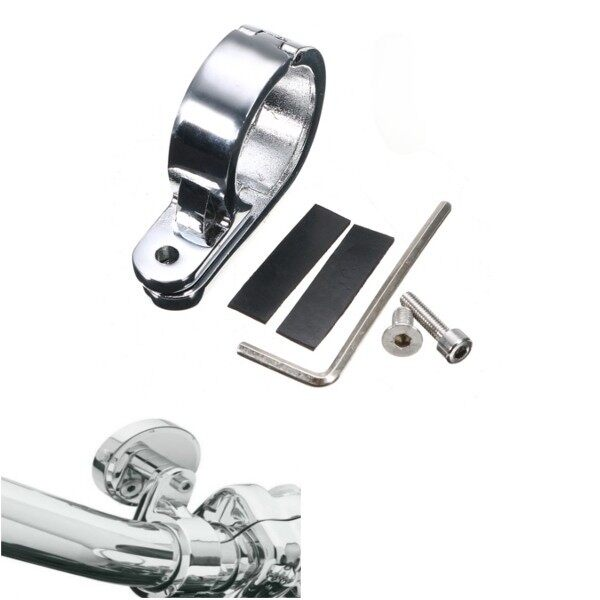 Automotive Tools & Equipment - Universal Handle Bar Mounts Clamp Clock For Harley - Car Replacement Parts