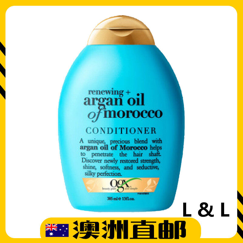[Pre Order] Australia Import OGX Renewing Moroccan Argan Oil Hair Conditioner 385mL (Australia Product)