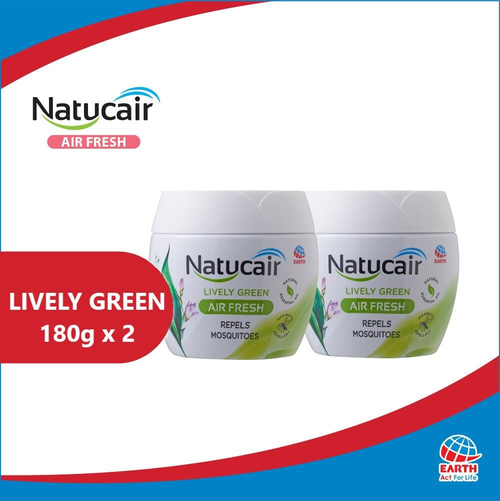 Natucair Air Fresh Mosquito Repellent Gel Assorted Variants [Bundle of 2]EHB000002f