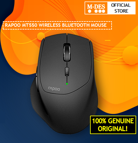RAPOO WIRELESS BLUETOOTH MOUSE MT550