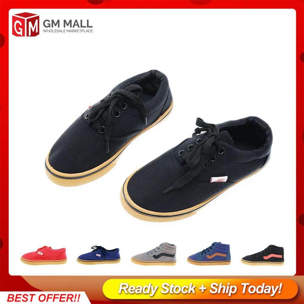 GM Mall Kids Shoes/Children Soft Shoes, Kasut Budak/Selesa Untuk Kanak - Size (30-35)