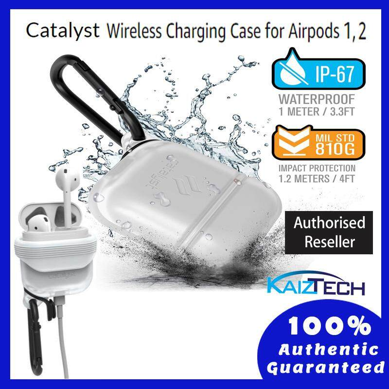 Original Catalyst Waterproof Case AirPods  (Frost White)  1 meter deep with 1.2 meters drop protection