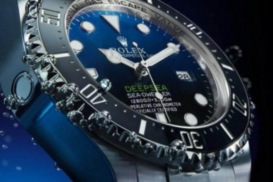 QT ROLEX_Deepsea Sea-Dweller D-Blue 44mm Automatic stainless steel Diver watchQT ROLEX_Deepsea Sea-Dweller D-Blue 44mm Automatic stainless steel Diver watch