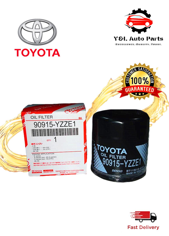TOYOTA OIL FILTER 90915-YZZE1/YZZE2
