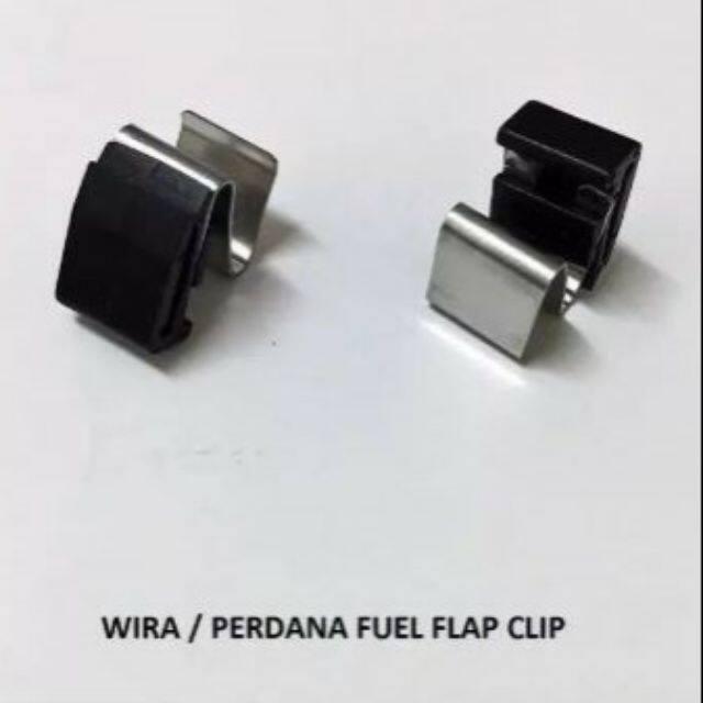 ORIGINAL PROTON GENUINE WIRA /WAJA/PERDANA FUEL FLAP IS A CLIP