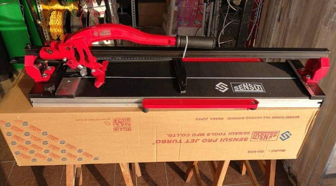 SENSUI SU650 Laser Manual Tile Cutter 650MM / 25-1/2 HEAVY DUTY Professional Scoring Wheel W Single Rail POTONG MOSAIC