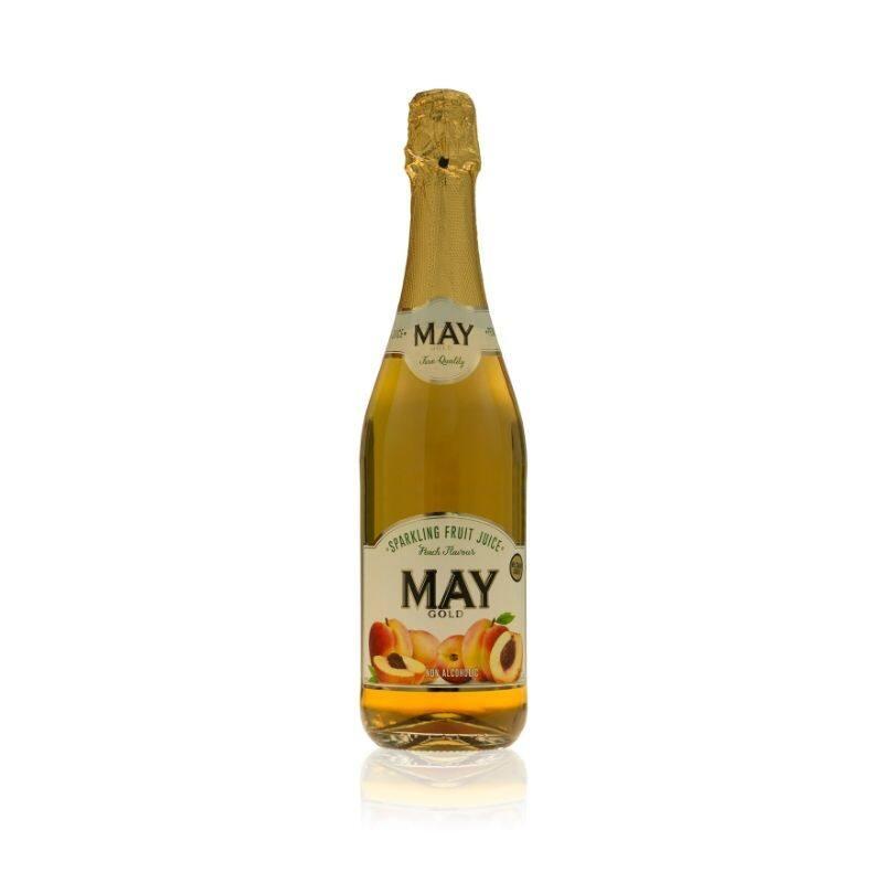 [BIGBox Asia] May Sparkling Juice 750ml - Peach