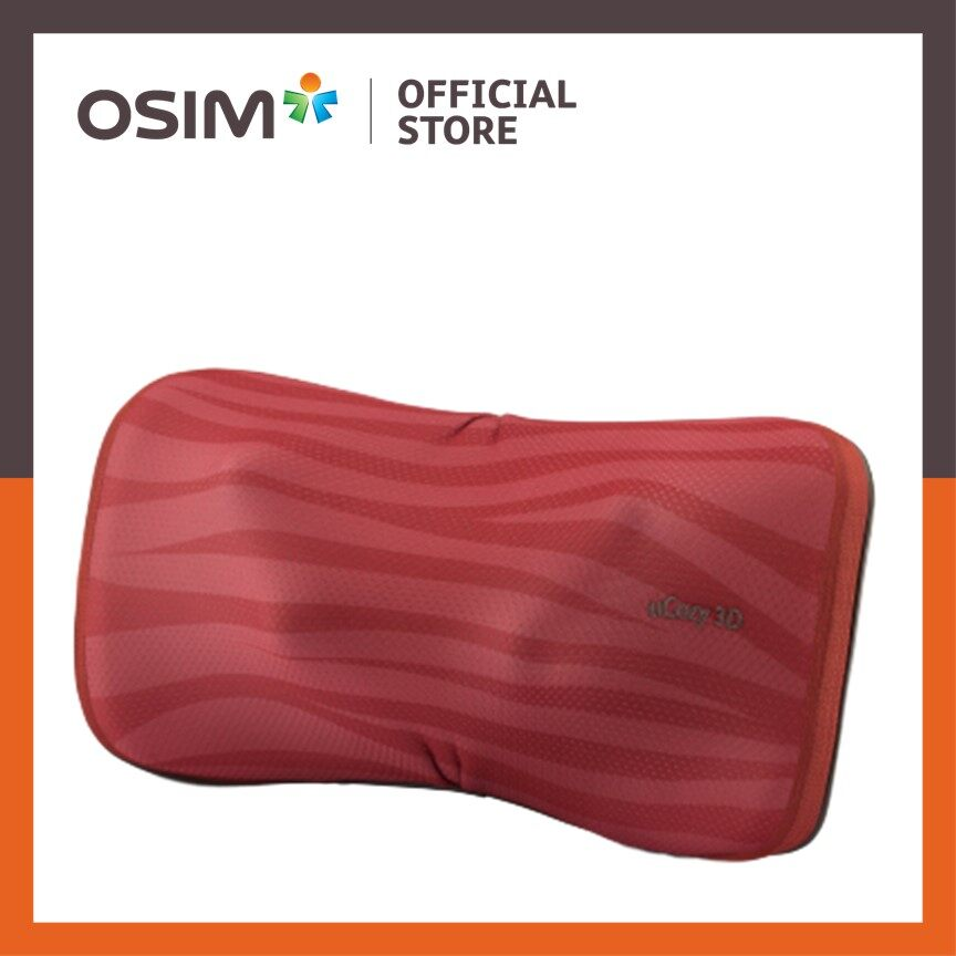OSIM uCozy 3D Neck Massager Passion Red