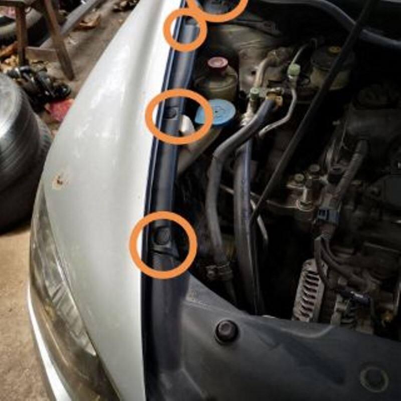 30 pcs honda civi windscreen cowl scuttle panel  retainer
