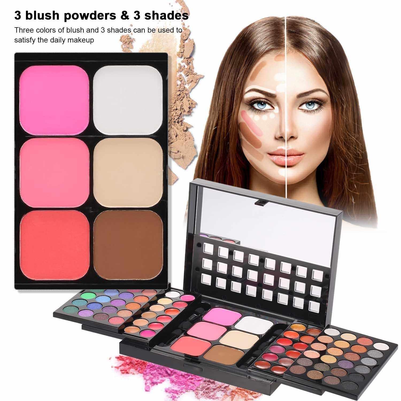 Anself All-in-one Eyeshadow Palette Make Up Kits Eye Shadow Set Concealer Eye Shadow Lipstick Blush Shadow Kits for Women and Teen Full Starter Kit (Standard)