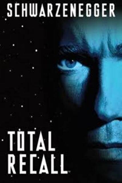 English Movie Total Recall 1990 Film DVD Arnold Schwarzenegger Sharon Stone