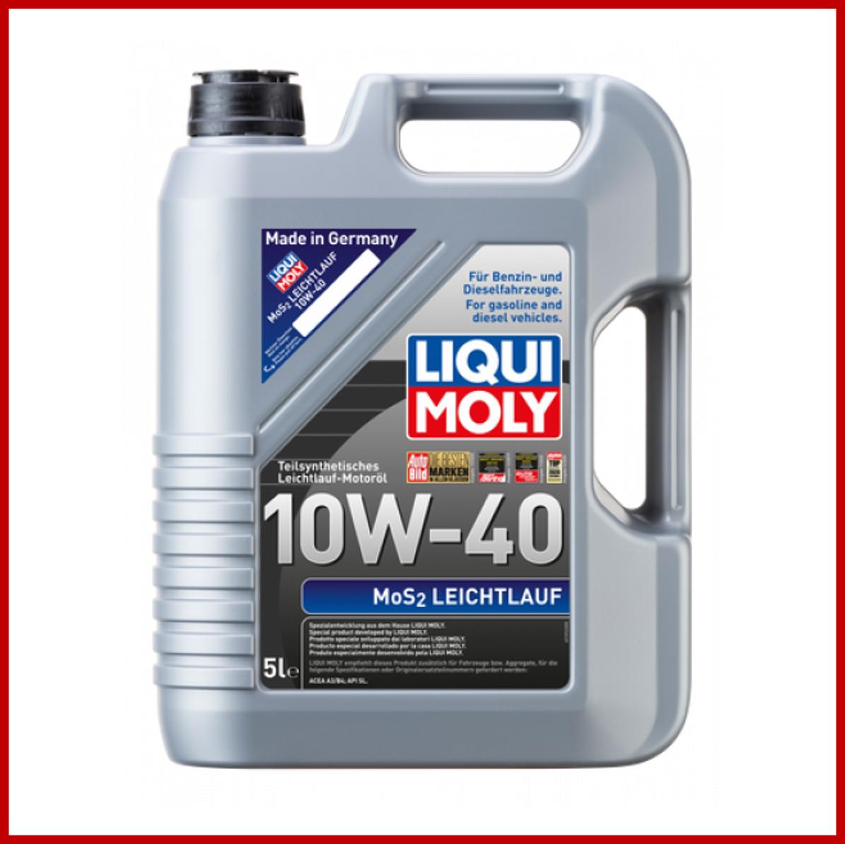 LIQUI MOLY MoS2 Leichtlauf 10W40 (5L)