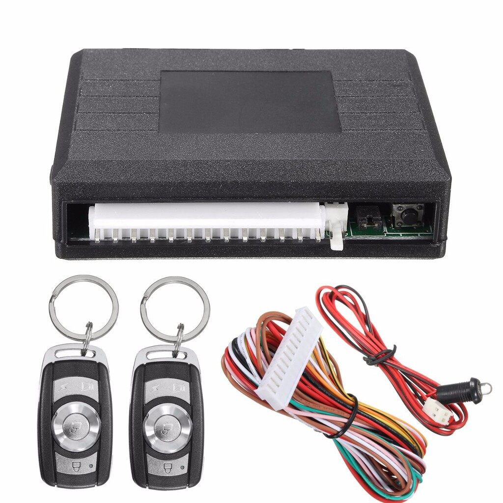 Tyres & Wheels - Universal Door Lock Vehicle Keyless Entry System Auto Car Remote Central Kit - Car Replacement Parts