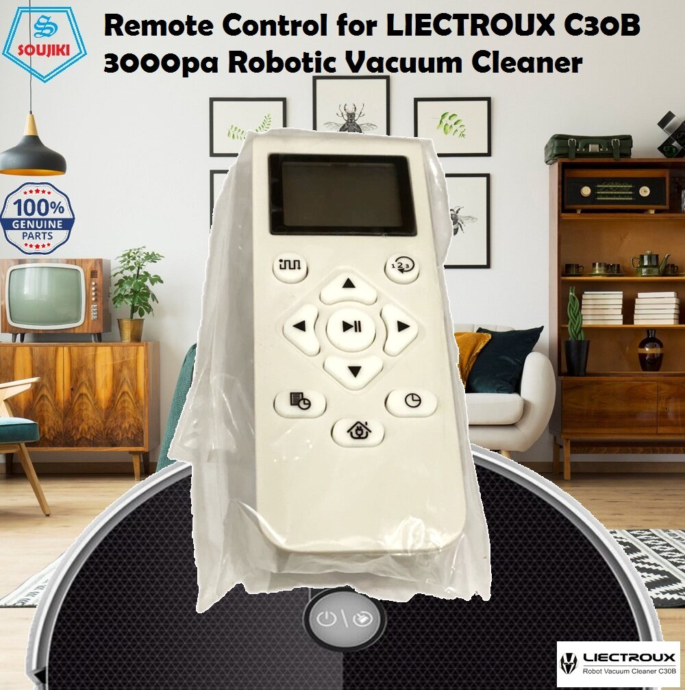 Remote Control For Liectroux C30B 3000pa Strong Power Suction Robotic Vacuum Cleaner