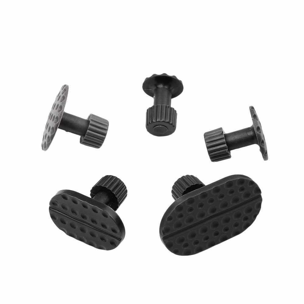 30 Pcs Dent Puller Tabs Car Auto Body Dent Repair Tool Accessory Black (Black)