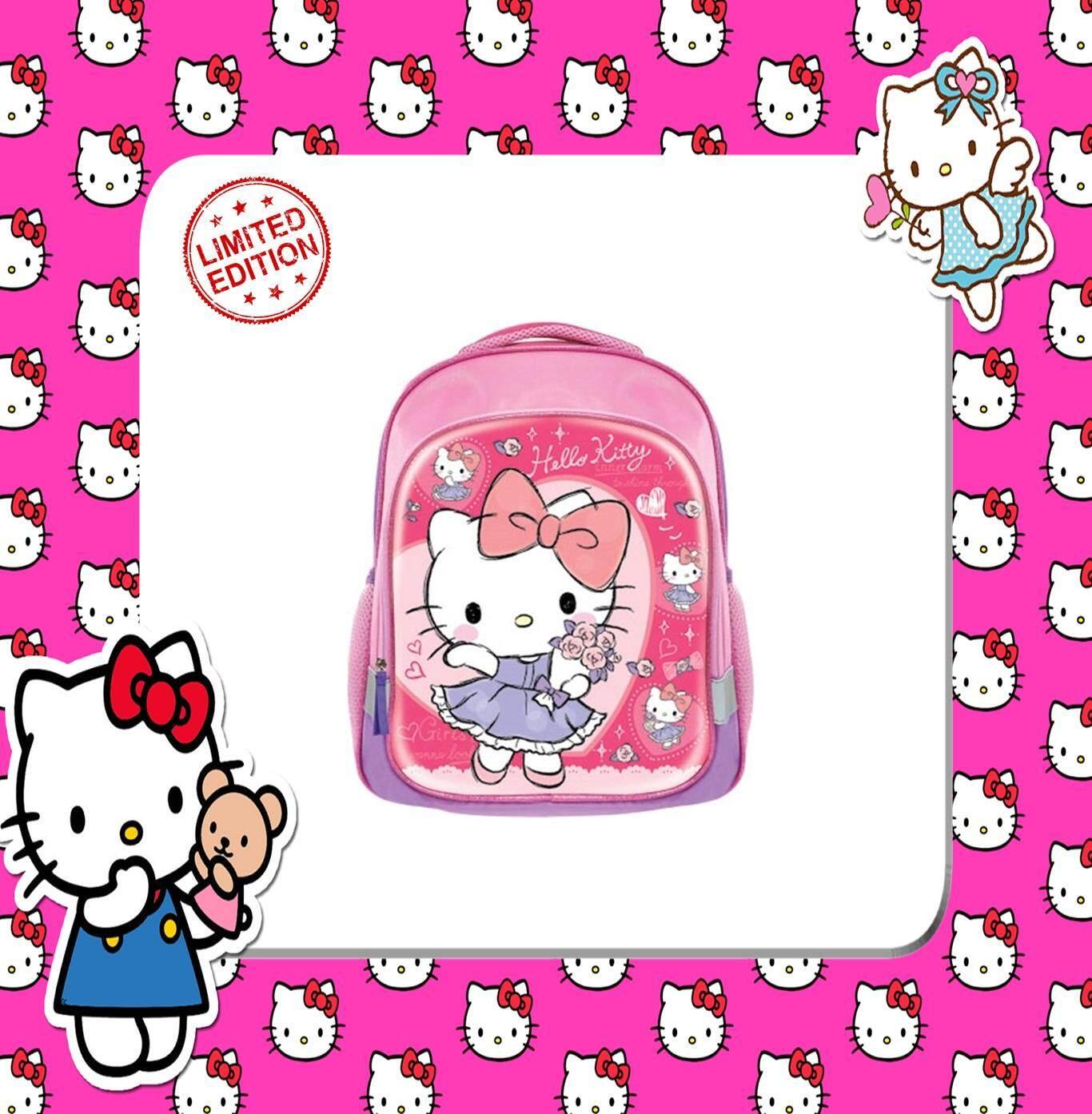 100% SANRIO AUTHENTICSanrio Hello Kitty Pre School Bag - Pink Colour