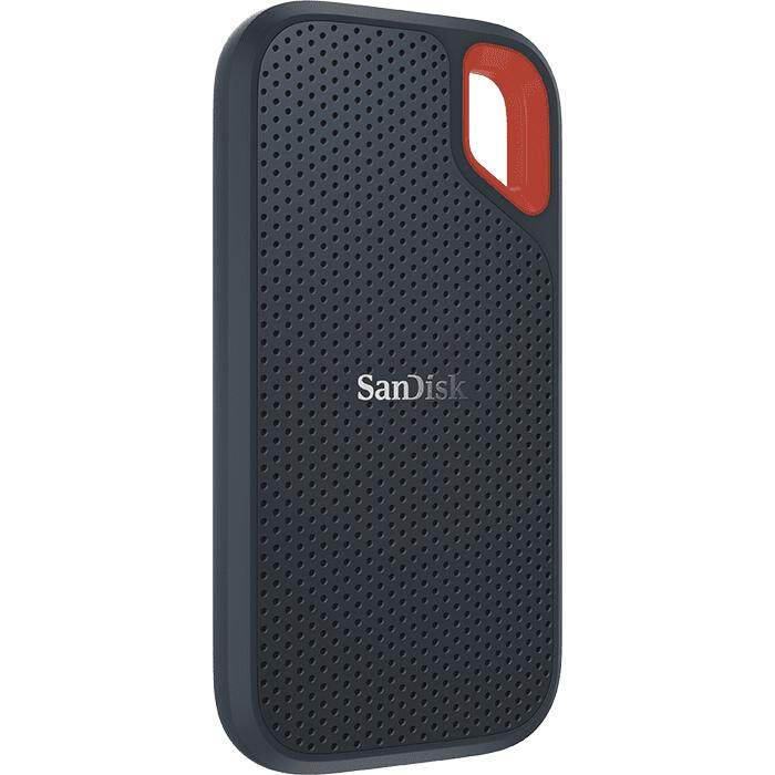 SanDisk Extreme Portable SSD E60 (250GB / 500GB / 1TB / 2TB) Up to 550MB/s USB 3.1 Type-C IP55 Water & Dust-resistance Rugged External Solid State Drive Works with Windows and Mac SanDisk SecureAccess Downloadable Password Protection Software