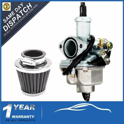 Tyres & Wheels - Carburetor & Air Filter For 1973-1990 Honda CB125S CB125 CG125 Carb Carburettor - Car Replacement Parts