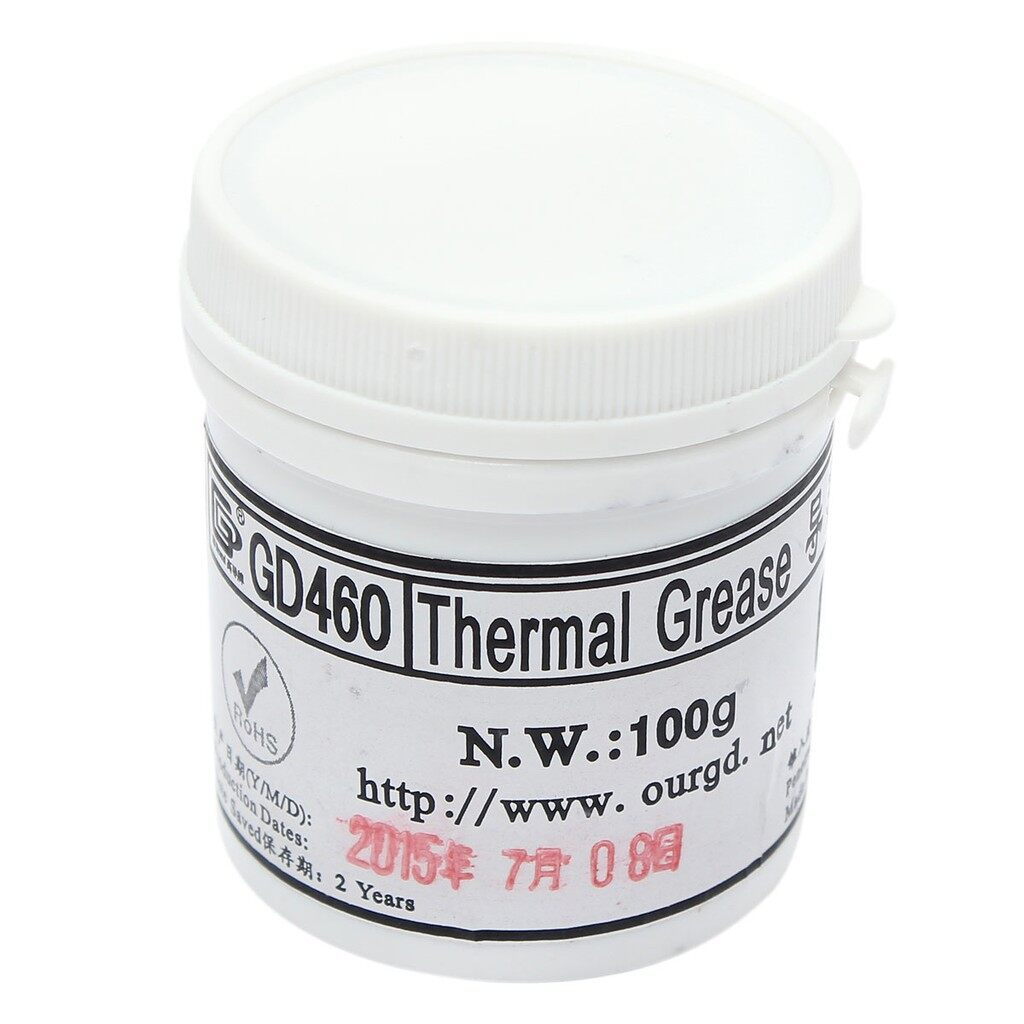 Cool Gadgets - 100g Compound Heatsink Thermal Cooling Paste Grease Canner For PC CPU - Mobile & Accessories