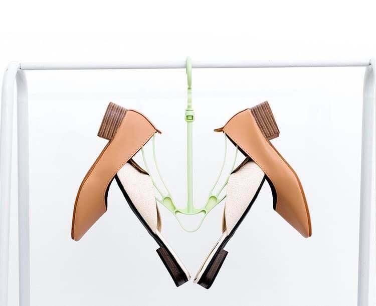 Buy 2 Free 1 Creative Multi Functional Shoe Drying Rack Hanging Shoe Rack Plastic Movable Magic Shoe Hanger
