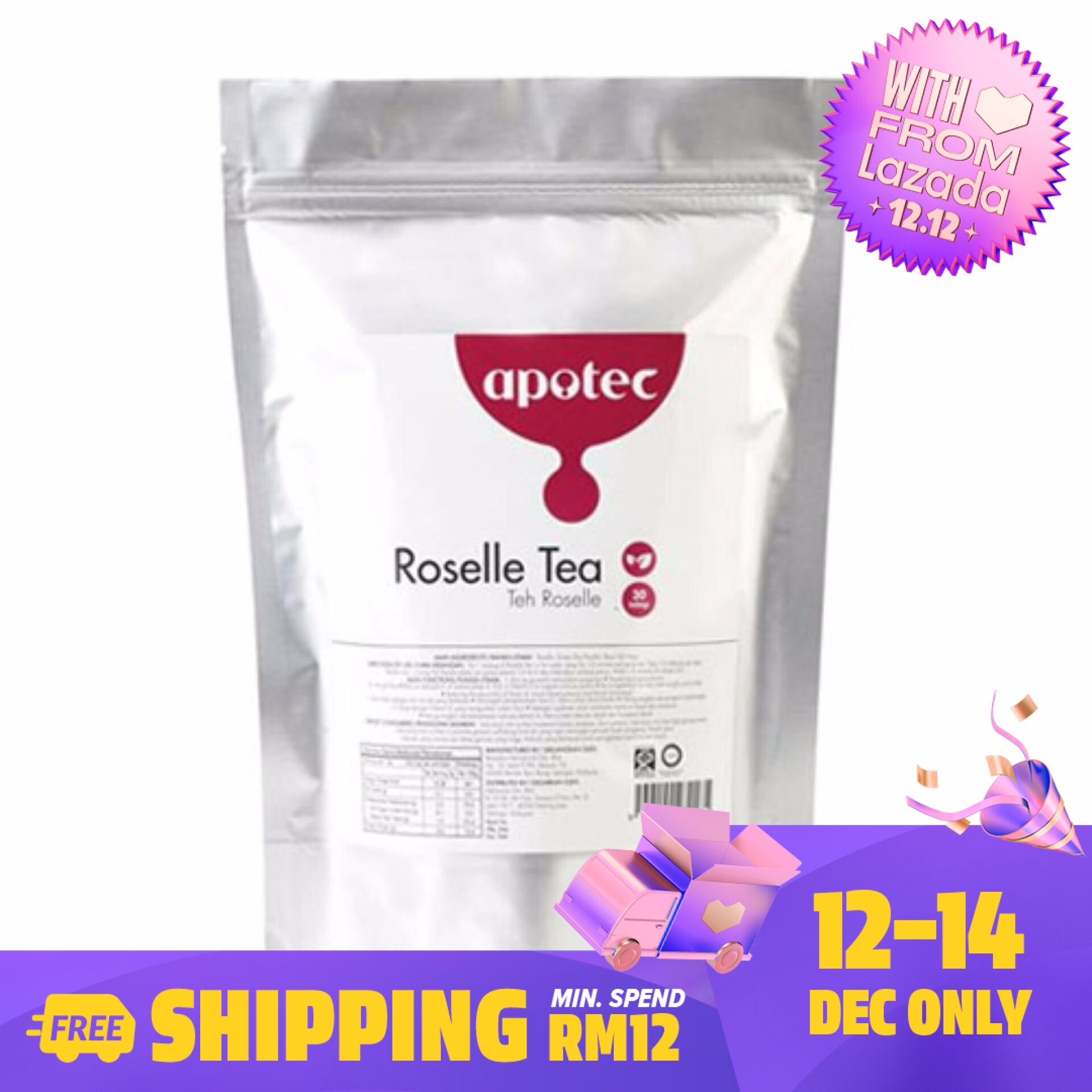 Apotec Roselle Tea 30's