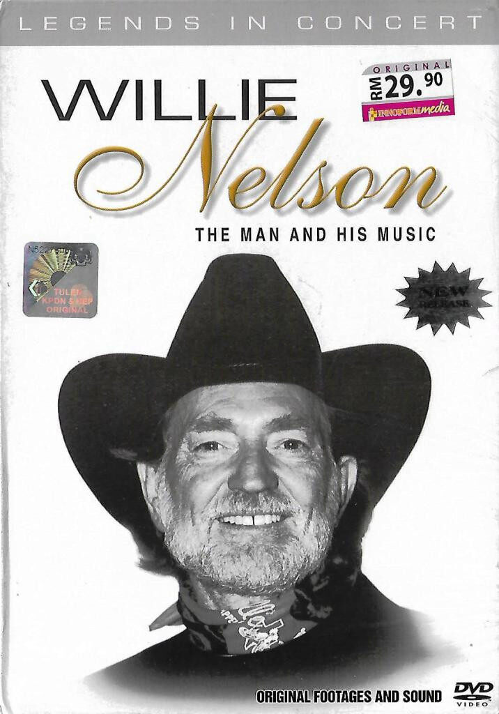 Willie Nelson Legends In Concert DVD Original Footages And Sound