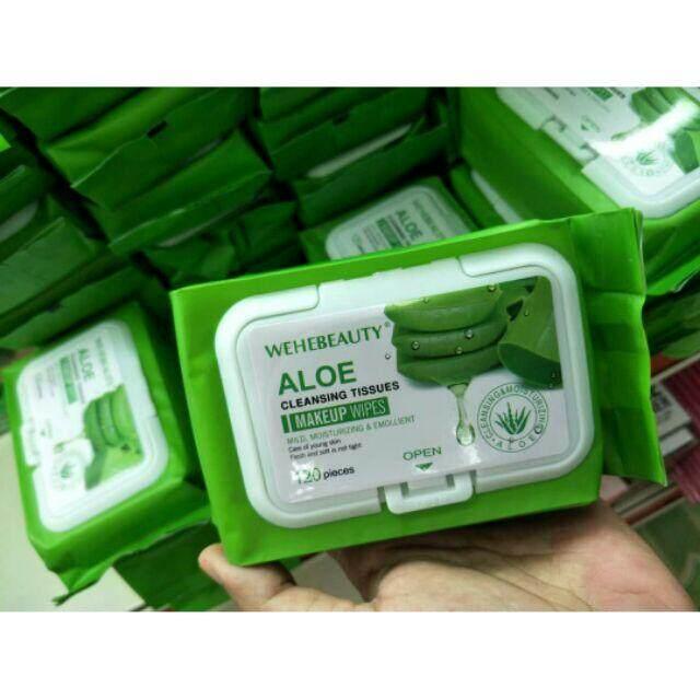 FREE GIFTAloevera wipes tissue 120pcs