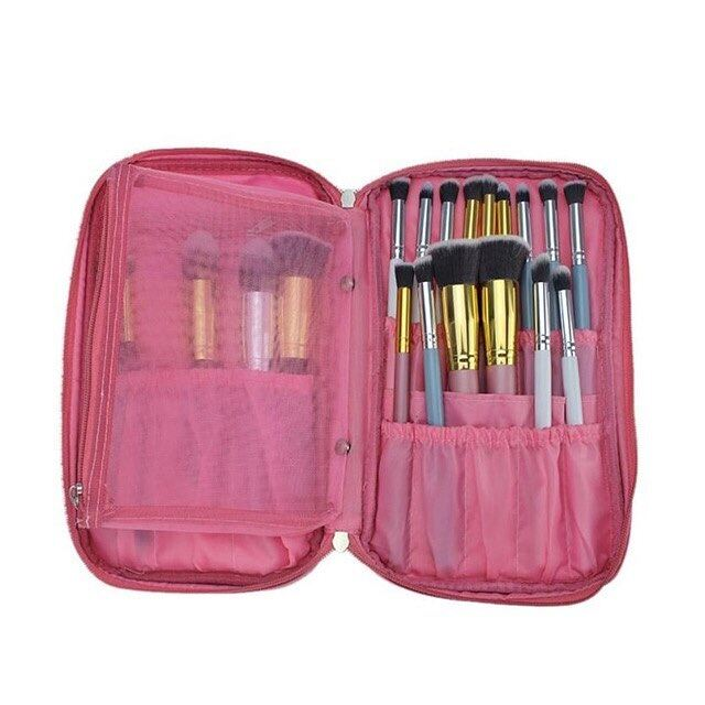 MAKEUP BAG BRUSH (PINK)