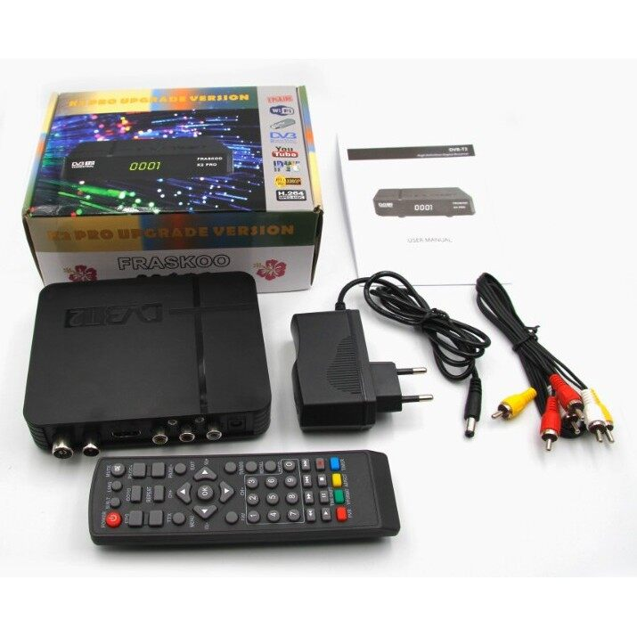 Fraskoo K2 Pro Receiver Support all Malaysia Channel