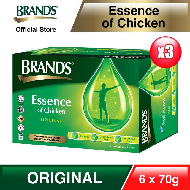 BRANDS® Essence of Chicken Triple Pack (3x 6s) 18 bottles x 70gm