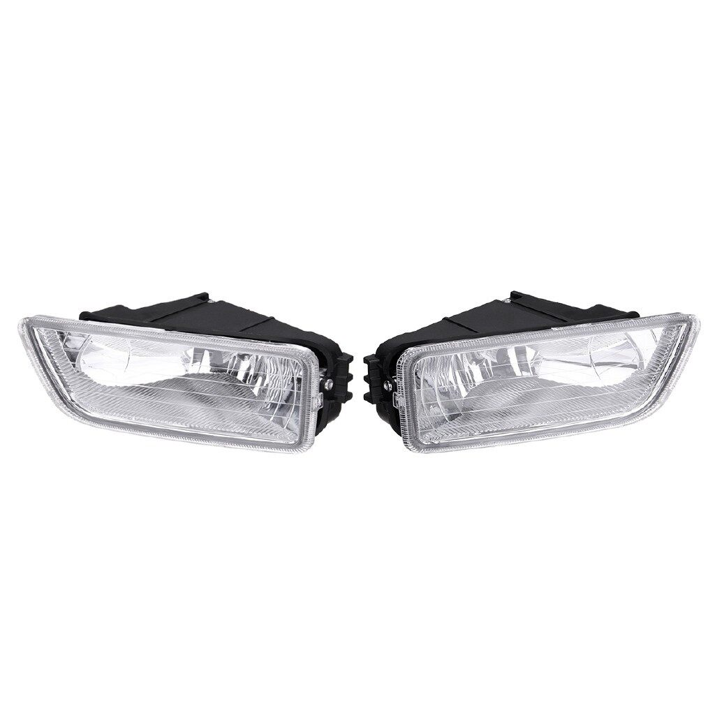 Car Lights - Pair Front Bumper Fog Light Lamp w/ H11 Bulb For Honda Accord Acura - Replacement Parts