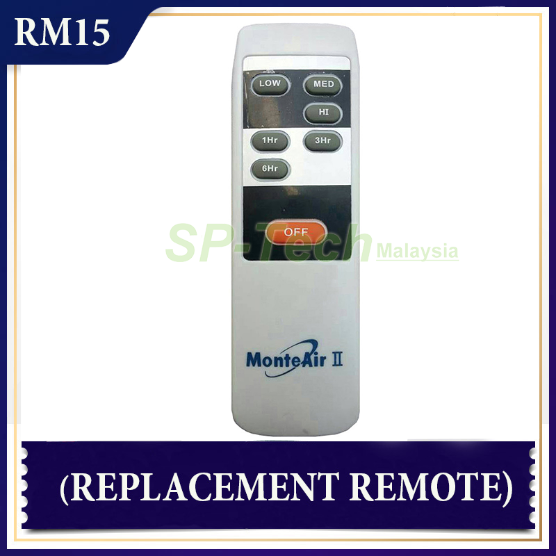 MONTE AIR II FAN REMOTE CONTROL (REPLACEMENT)