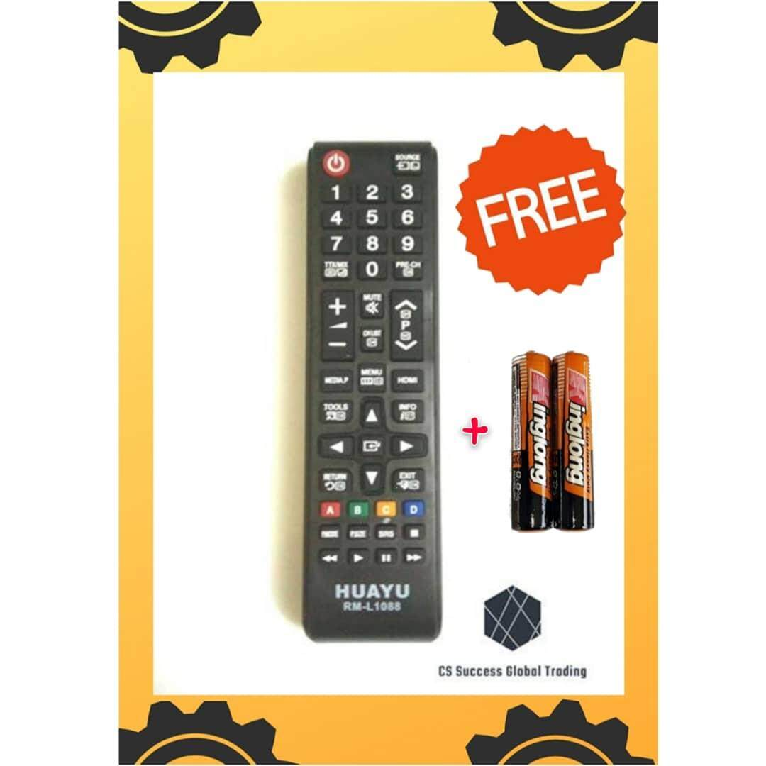 HUAYU SAMSUNG RM-L1088 LCD/LED REMOTE CONTROLLER