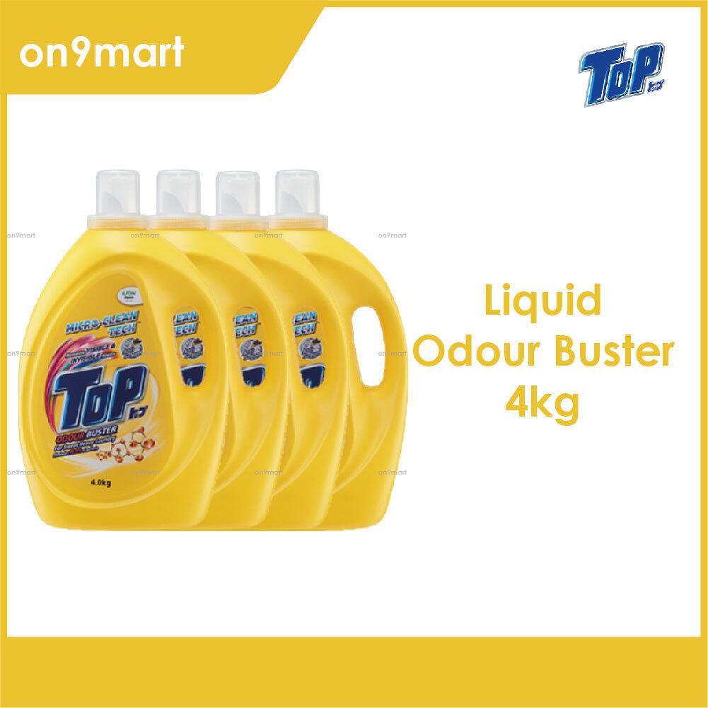 TOP Liquid Laundry Detergent - Odour Buster 4 x 4kg